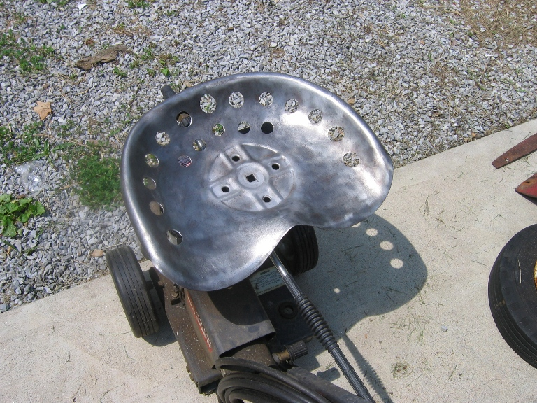 Wheel Horse Seat Pan - Stripped