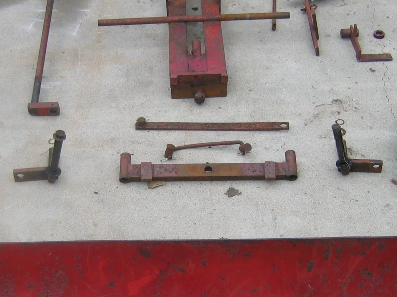 Wheel Horse Front Axcle Assembly - As Found