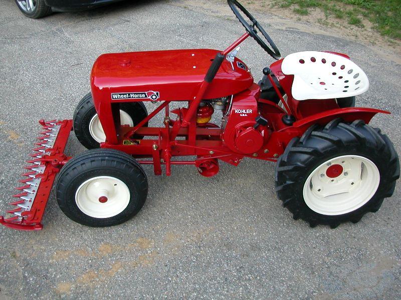 Riding Lawn Mower Paint : Spray paint wheel horse tractors redsquare